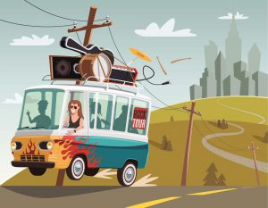 Car Services Atlanta to Nashville - Band Van