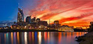Car Services Atlanta to Nashville - Nashville Skyline